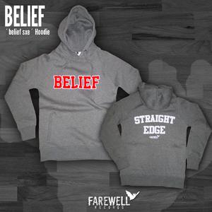 BELIEF ´Belief - Straight Edge´ Hoodie