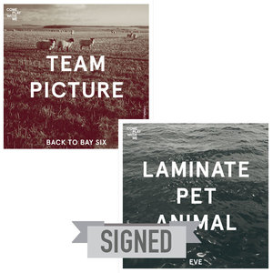 SIGNED CPWM006 Team Picture 'Back to Bay Six' / Laminate Pet Animal 'Eve'