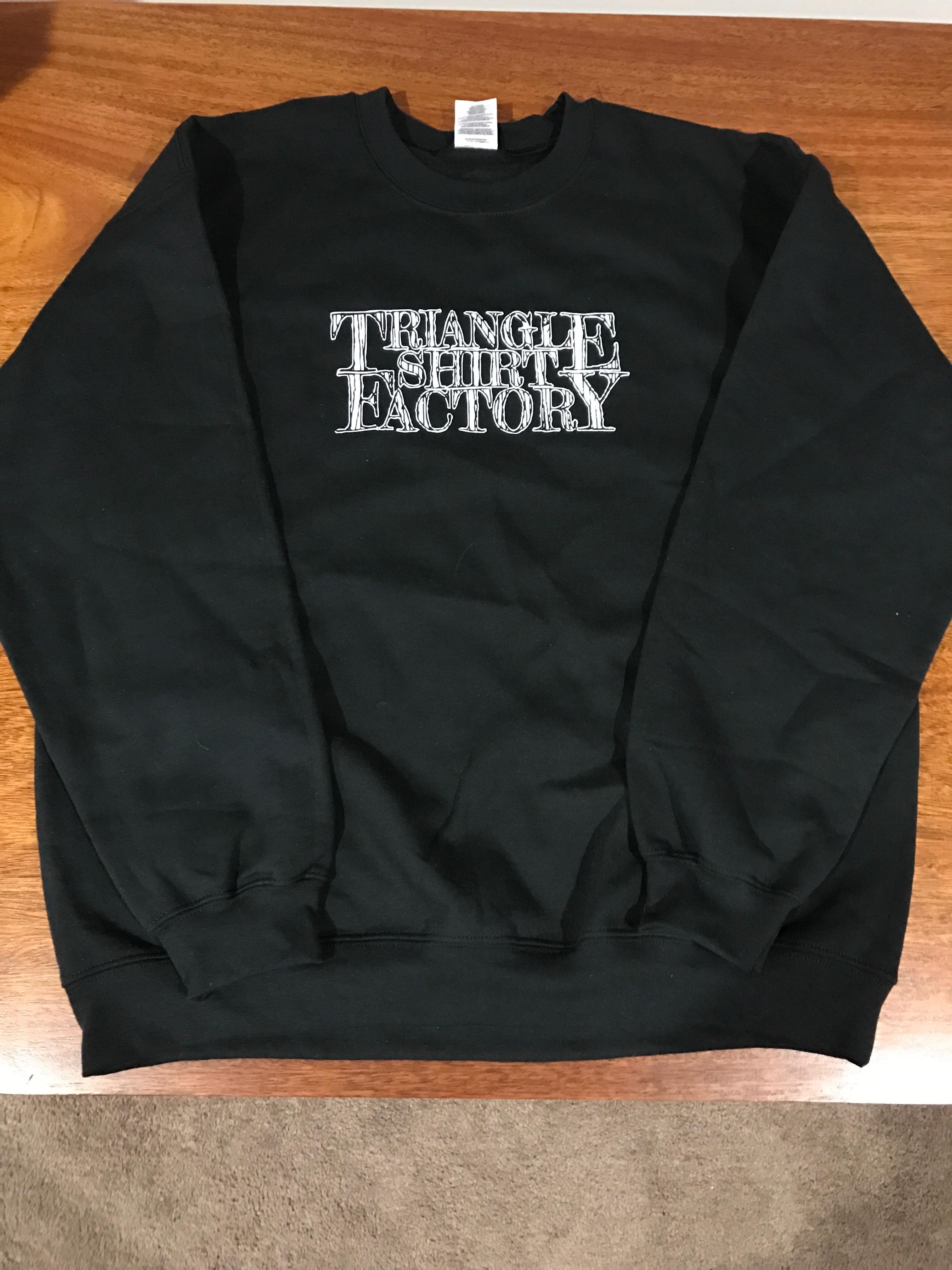 Triangle Shirt Factory Crewneck Sweatshirt