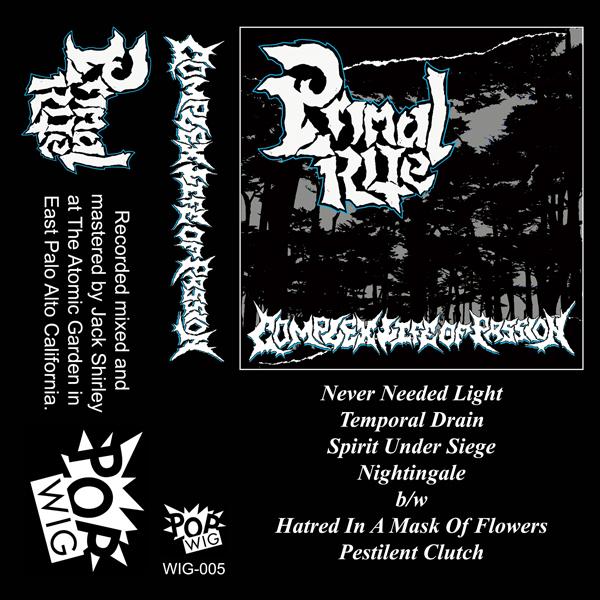 Primal Rite - Complex Life of Passion Cassette Tape
