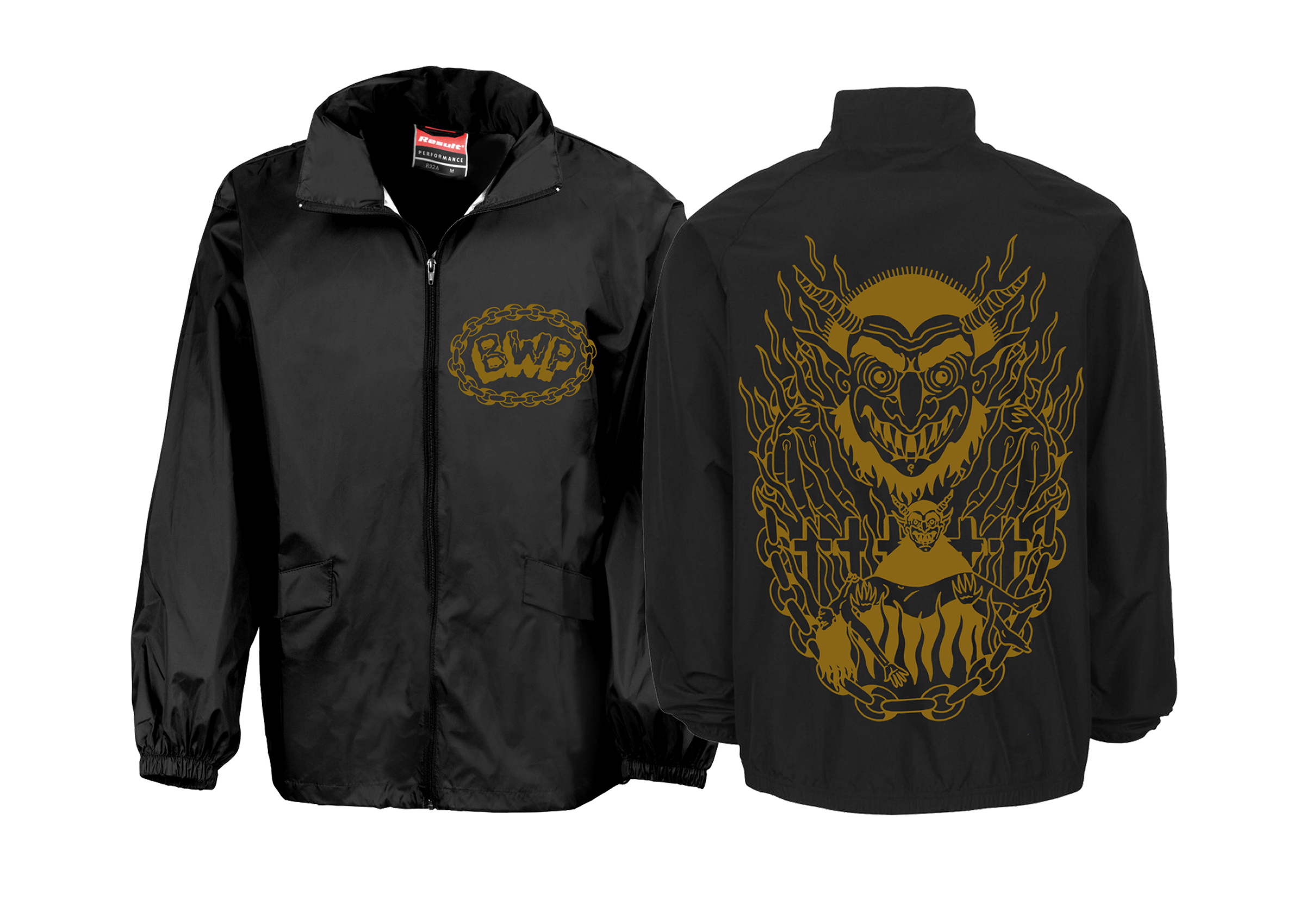 Brutality Will Prevail - In Dark Places windbreaker