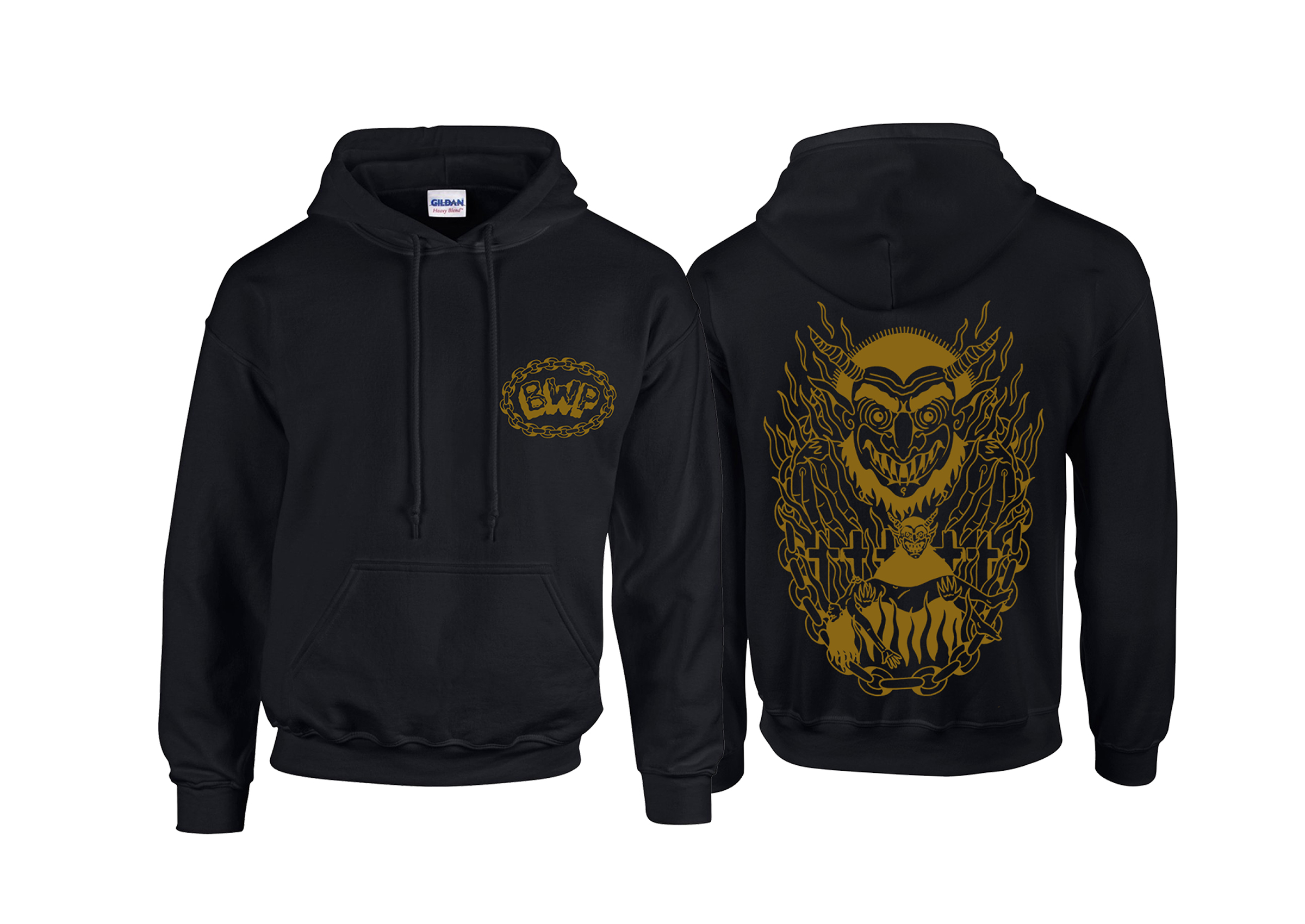 Brutality Will Prevail - In Dark Places hoodie