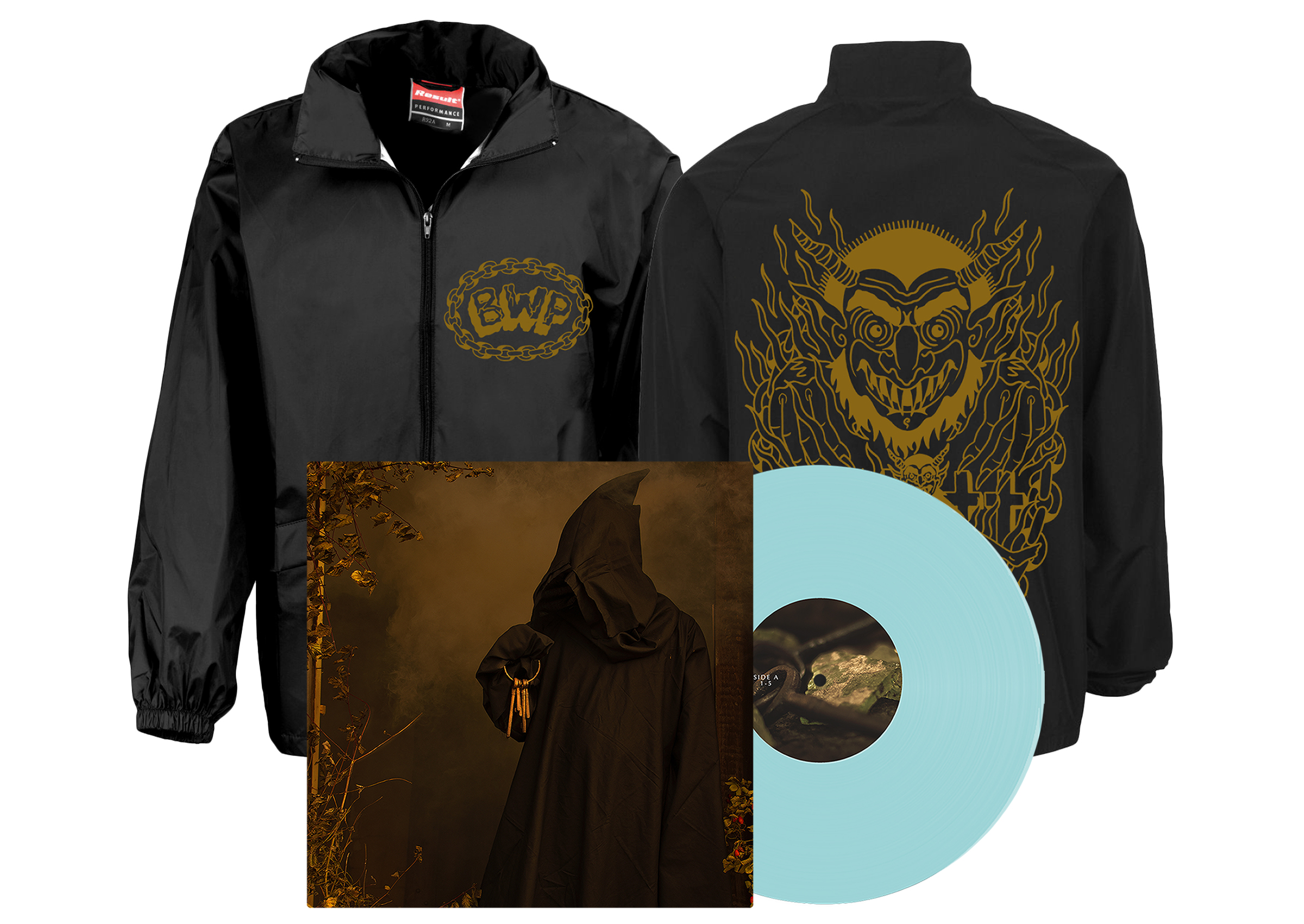 Brutality Will Prevail - In Dark Places windbreaker + LP