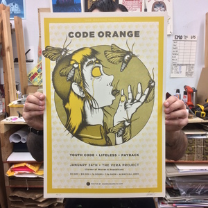 Code Orange - Seattle 1/24 Poster