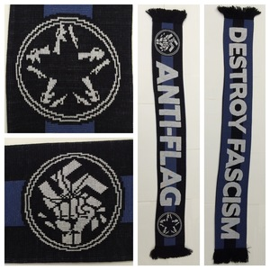 Anti-Flag - destroy fascism scarf