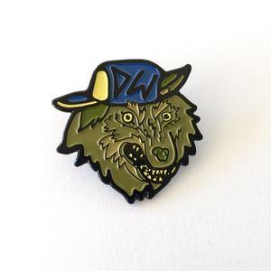 Donovan Wolfington - Dude Wolf Enamel Pin