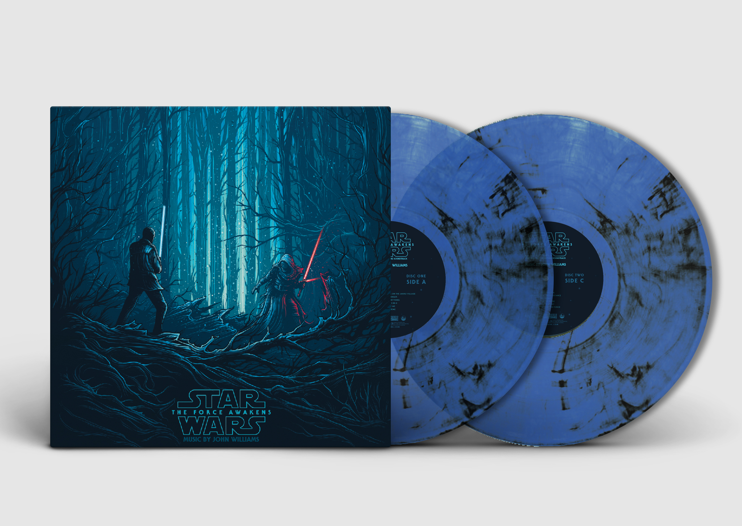 Star Wars Episode 7: The Force Awakens - Original Motion Picture Soundtrack (Collector's Edition) KYLO & FINN