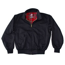 Original UK Brand Black Harrington Jacket by Warrior