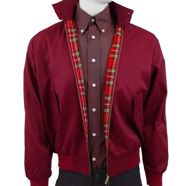 Original UK Harrington Jacket Maroon