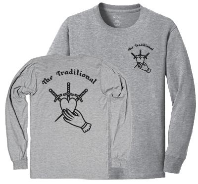 Heart & Dagger, Longsleeve Shirt