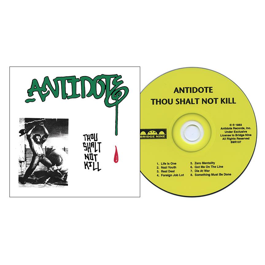 Buy Antidote Thou Shalt Not Kill At Bridge Nine Records