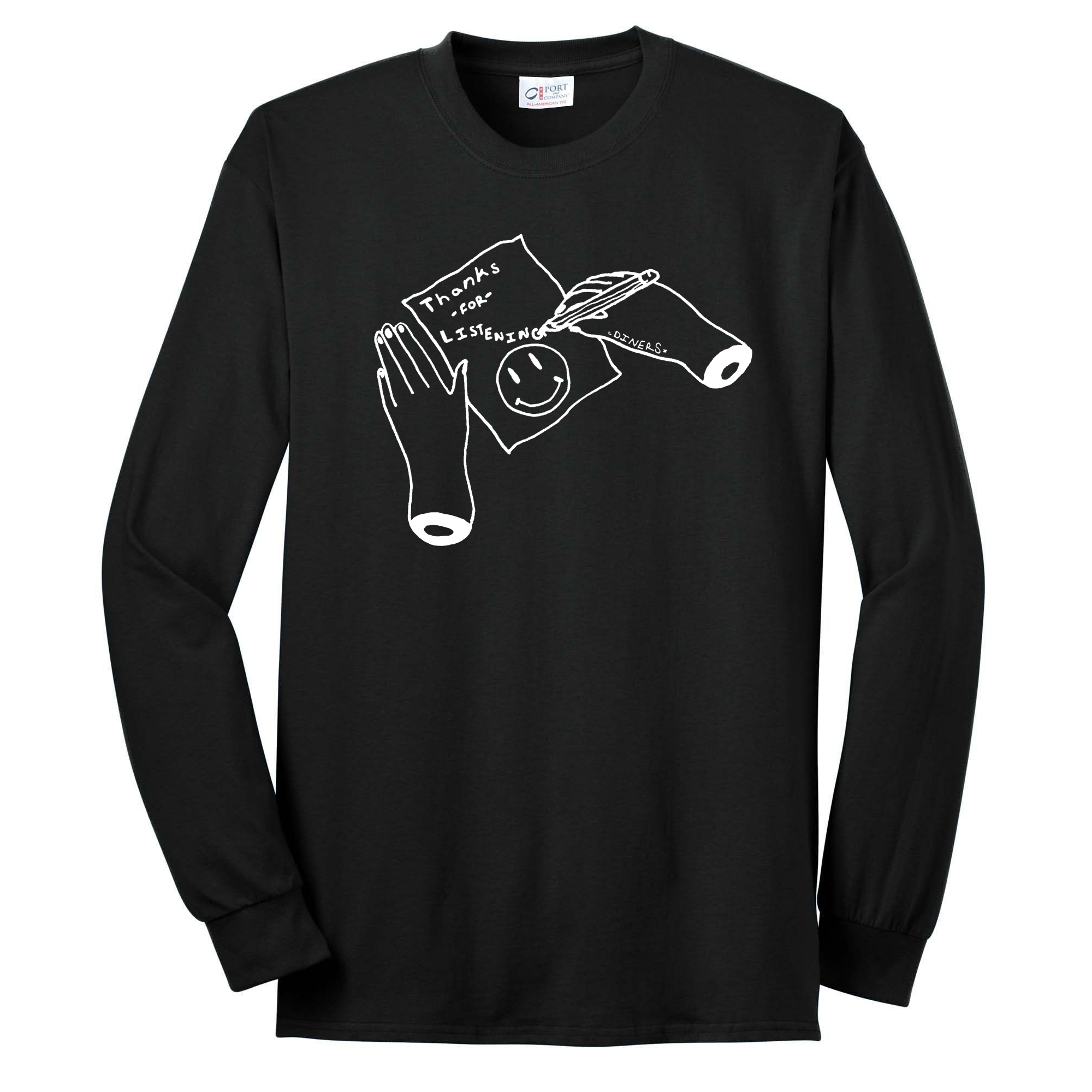 Thank You For Listening Long Sleeve Shirt (SALE) (Only XL's Left ...