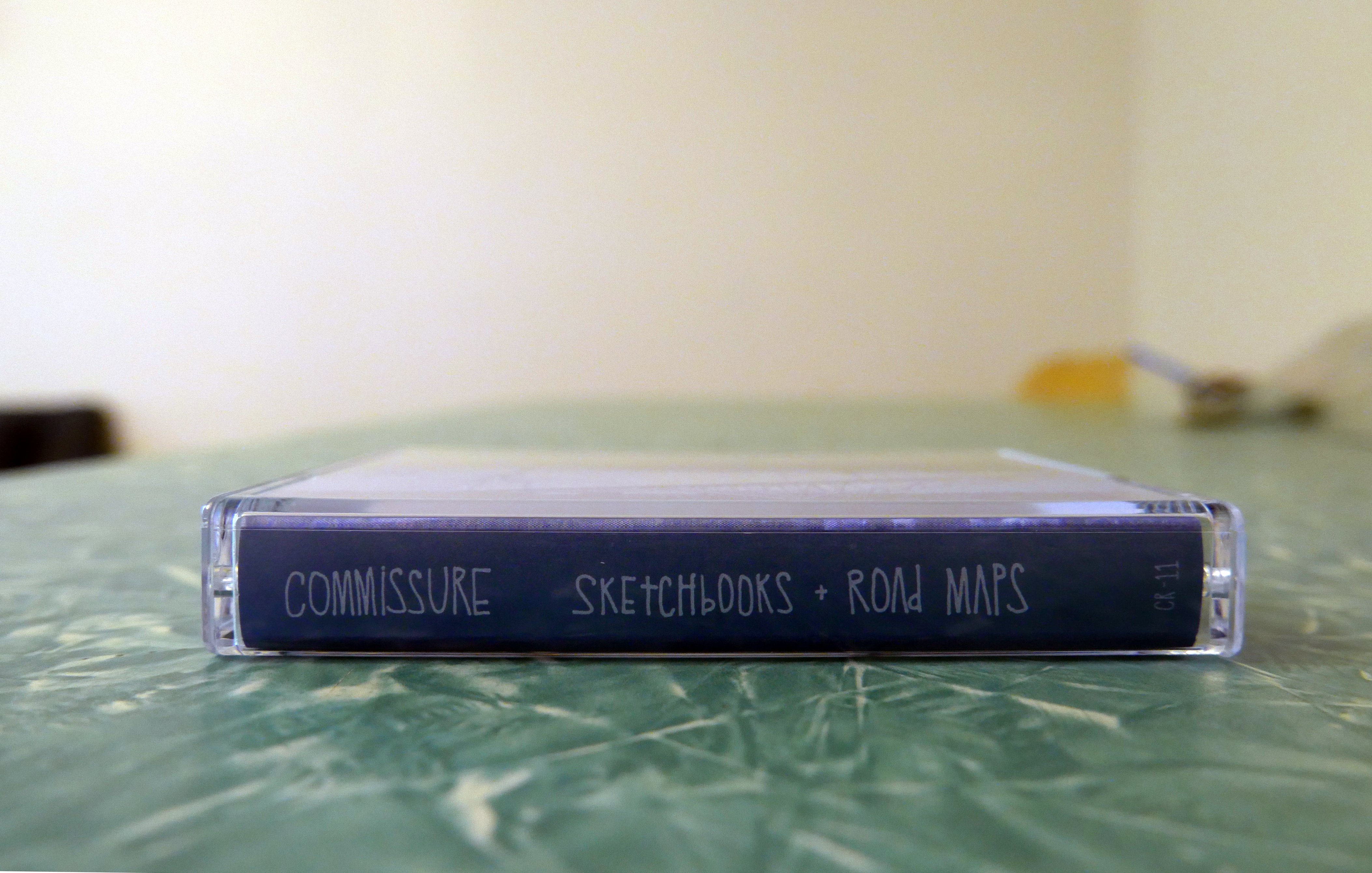 Commissure - Sketchbooks + Road Maps CS