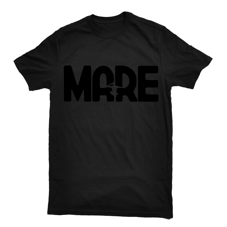 Mare - black logo shirt