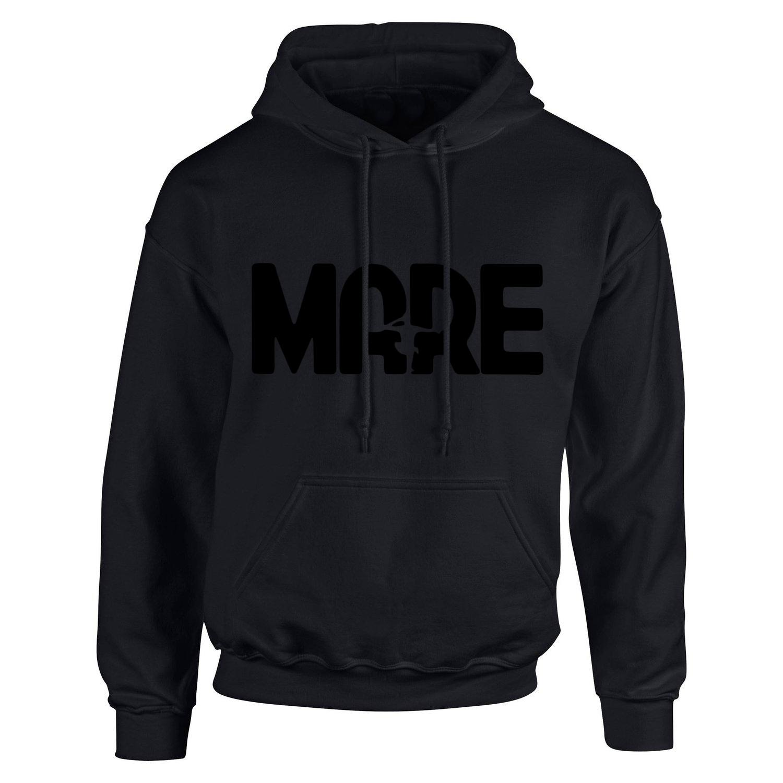 Mare - black logo hoodie
