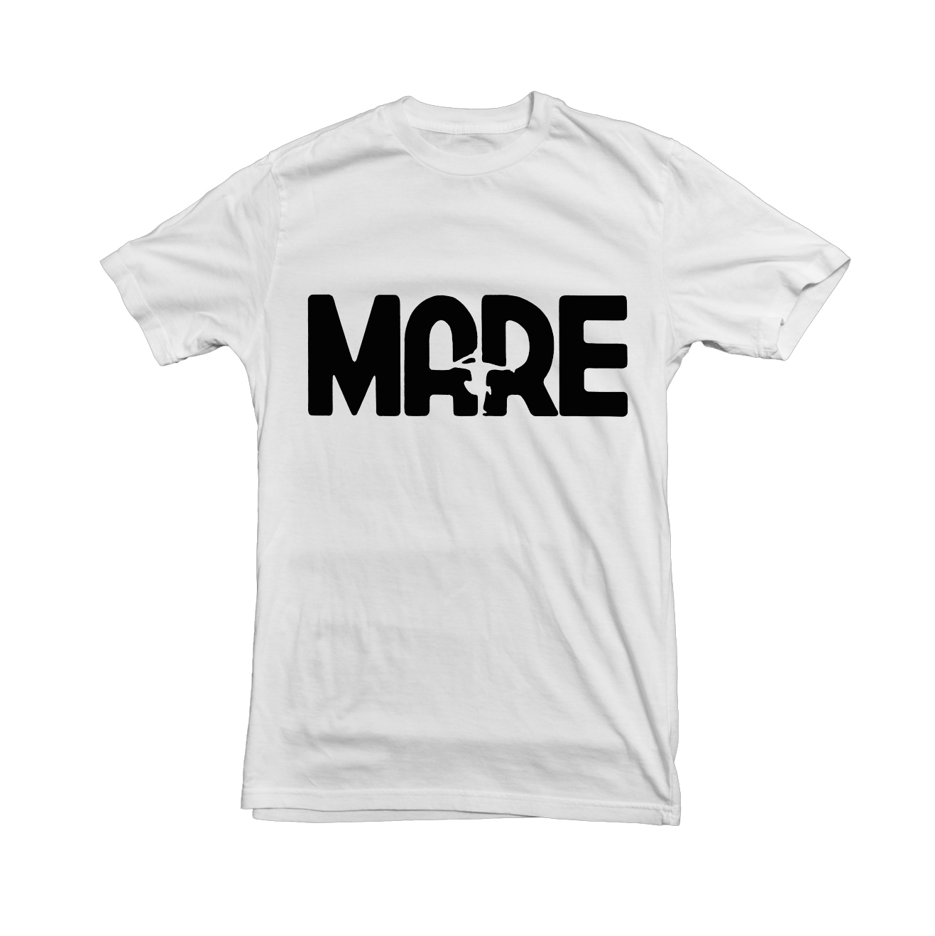 Mare - white logo shirt