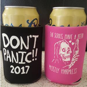 Don't Panic Fest 2017 Koozies