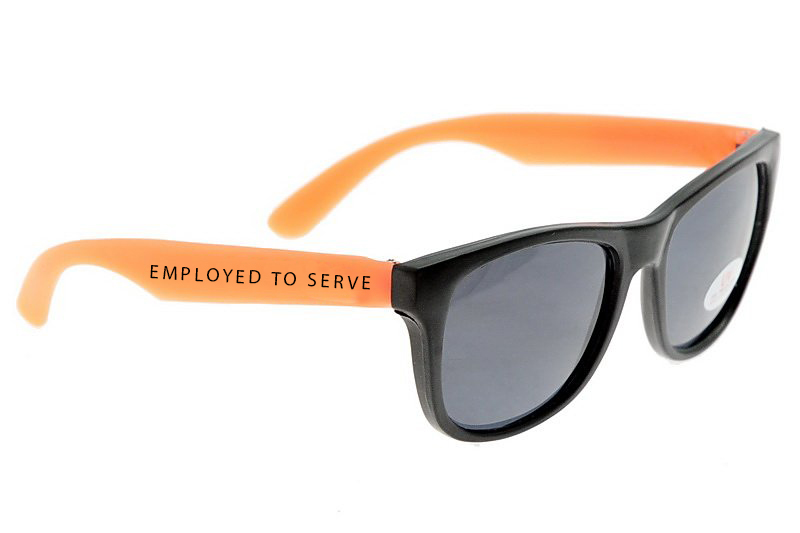 Employed To Serve - The Warmth Of A Dying Sun sunglasses