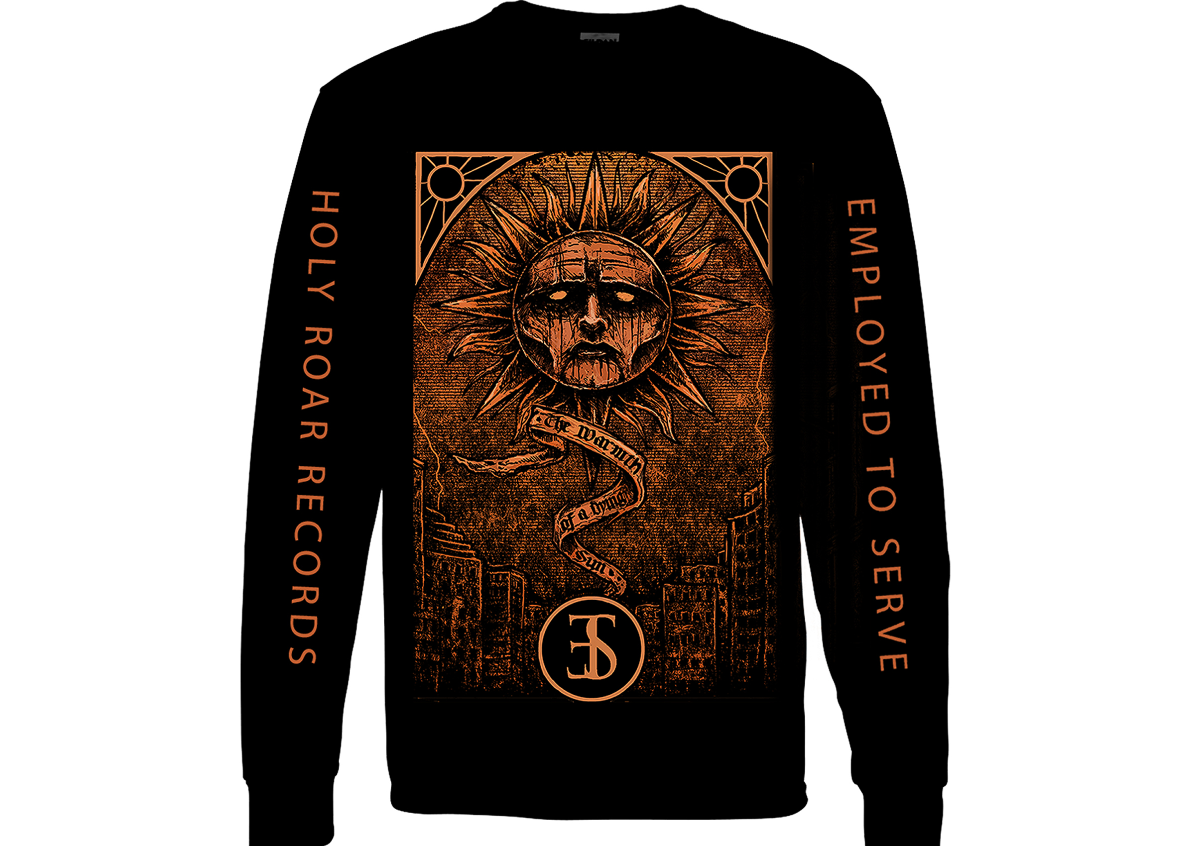 Employed To Serve - The Warmth Of A Dying Sun longsleeve