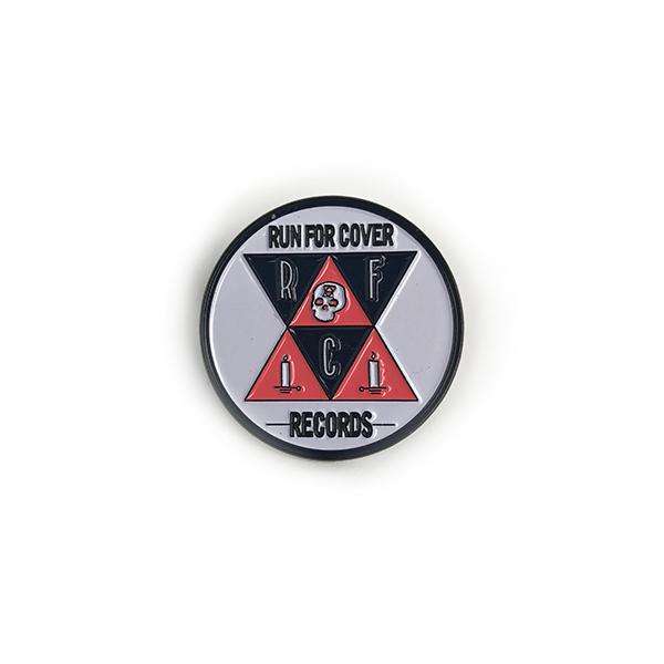 Run For Cover Records - Skull Logo Enamel Pin