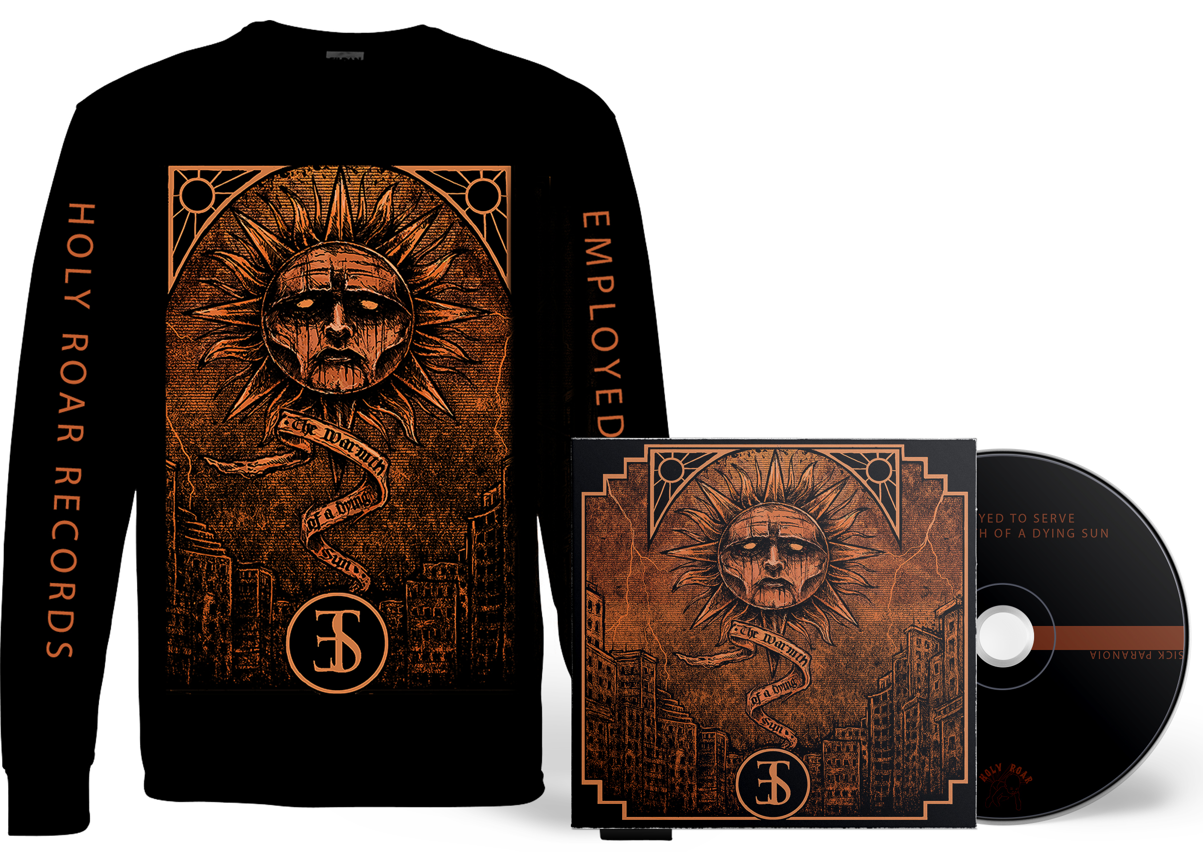 Employed To Serve - The Warmth Of A Dying Sun longsleeve + CD