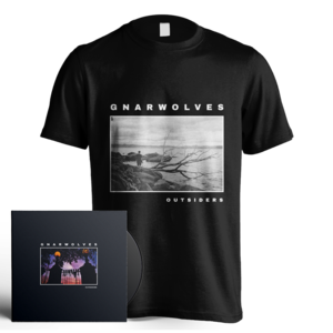 Outsiders CD + T-Shirt Bundle - PREORDER