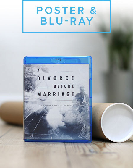 A Divorce Before Marriage Poster & Blu-Ray Bundle