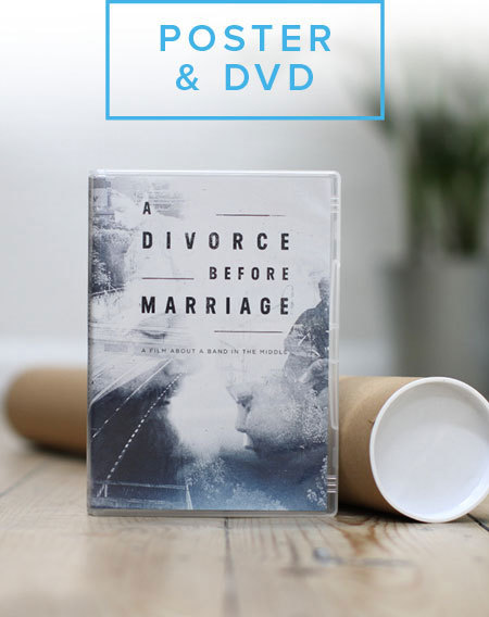 A Divorce Before Marriage Poster and DVD Bundle