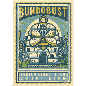 Bundobust Bee (Manchester) - Print