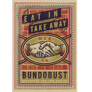 Bundobust Handshake (Manchester) - Print