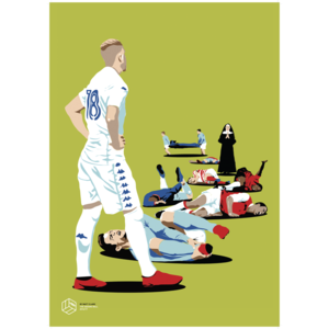 Pontus Jansson A3 Print