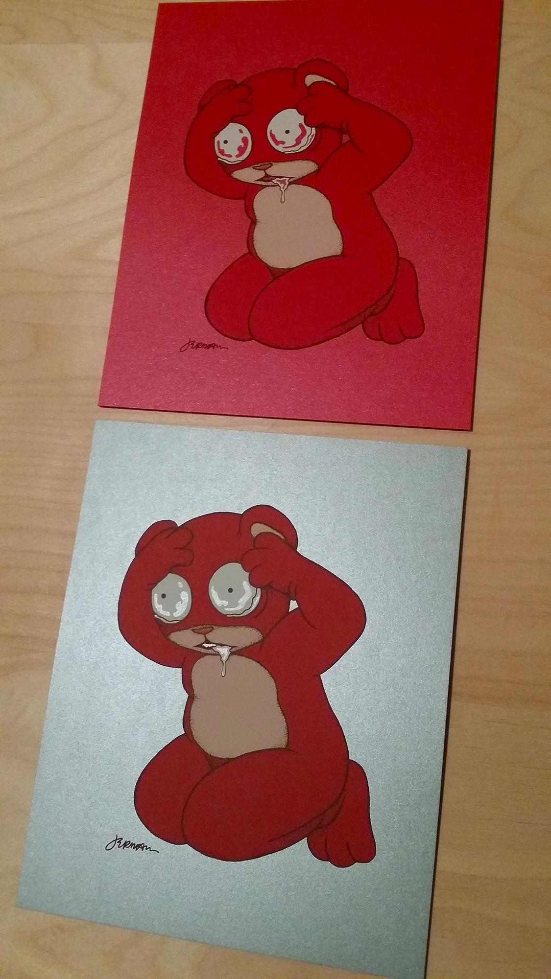 *NEW* 'I Think I'm Losing My Mind...' Mini Art Print (VARIANTS)