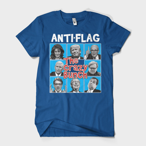 Anti-Flag - crazy bunch t-shirt
