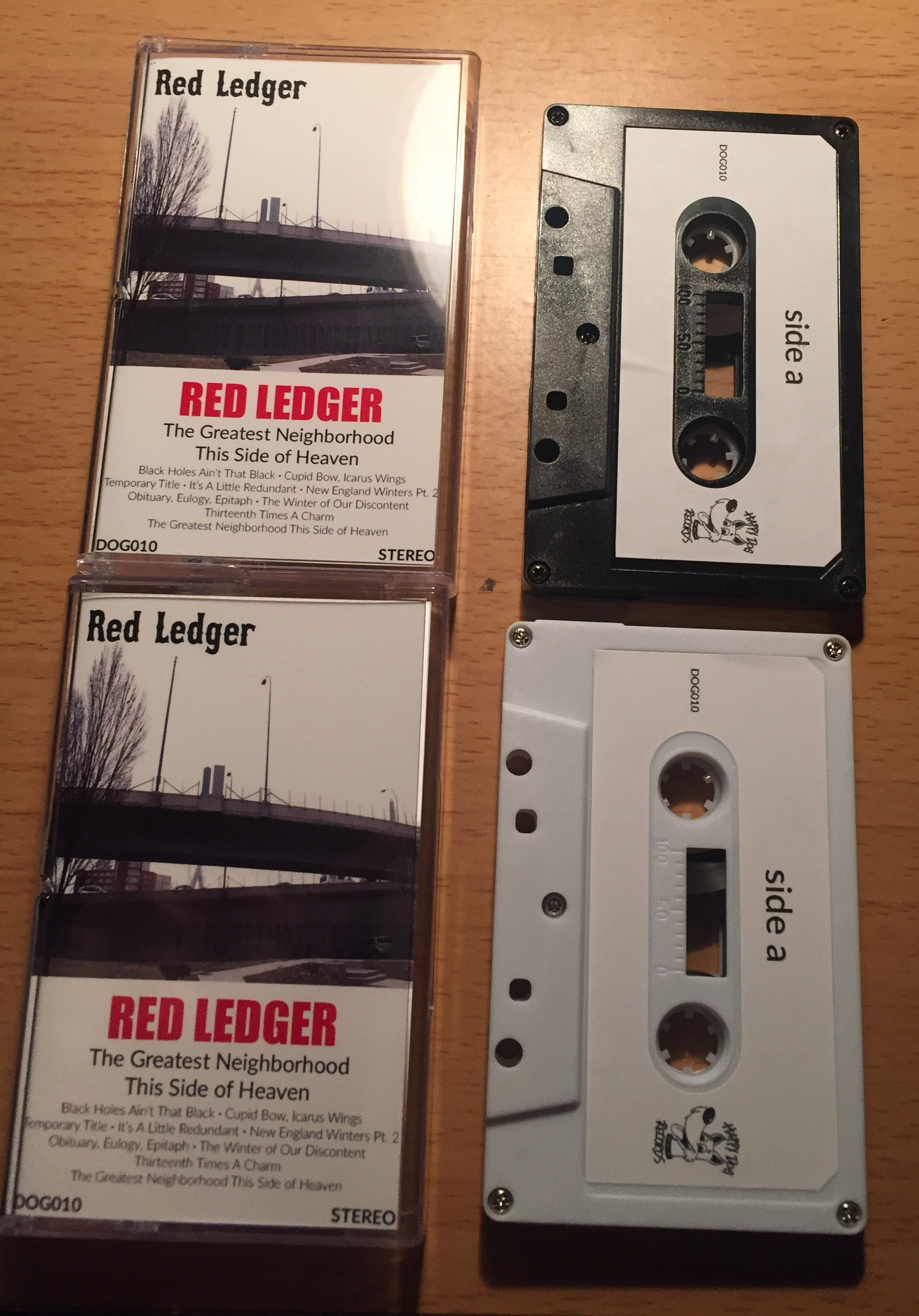 Red Ledger - The Greatest Neighborhood This Side of Heaven