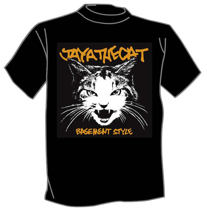 Basement T Shirts Part - 29: Jaya The Cat - Basement Style T-Shirt