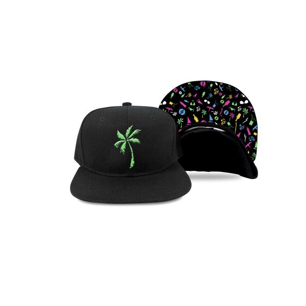 Green Palm Snap Back
