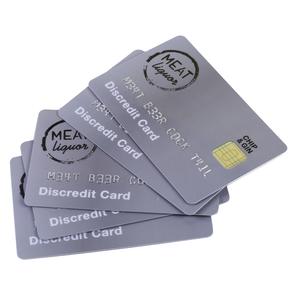 DISCREDIT CARDS