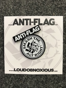 Anti-Flag - SMASH THE ALT RIGHT enamel pin