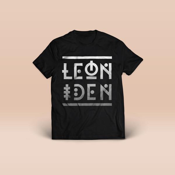 Shirt (schwarz) // LEONIDEN