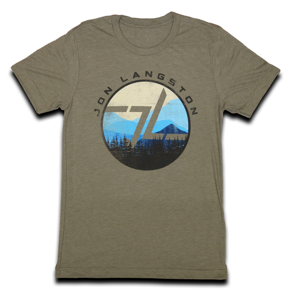 Georgia Mountain Tee Color- Olive