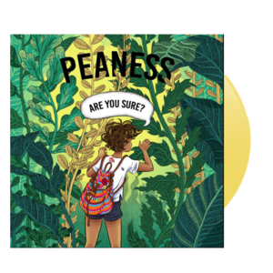 Peaness 'Are You Sure EP' 10trk Yellow Vinyl/CD - PREORDER