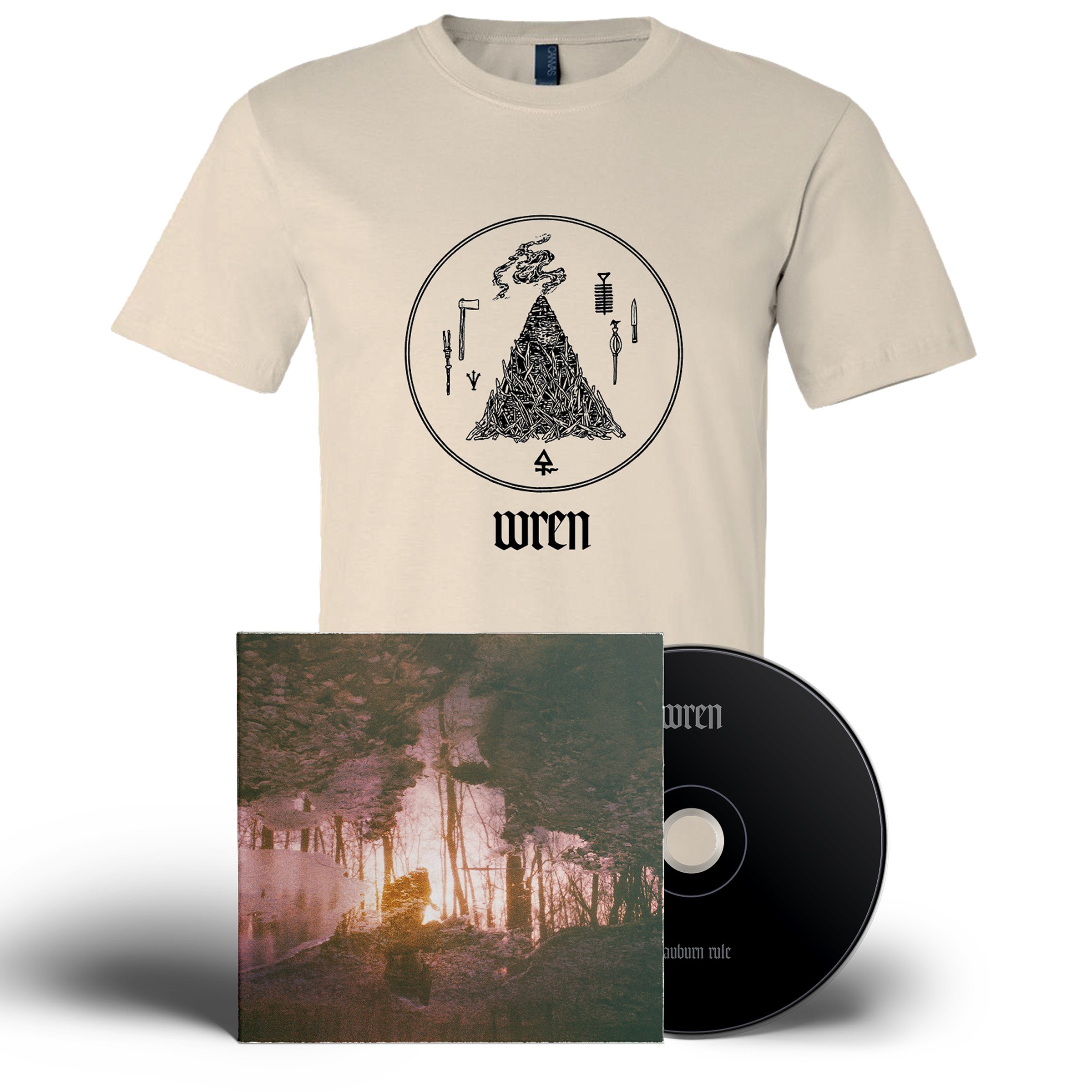 Wren - Auburn Rule CD + shirt