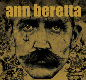 NEW - Ann Beretta limited metallic 7 inch