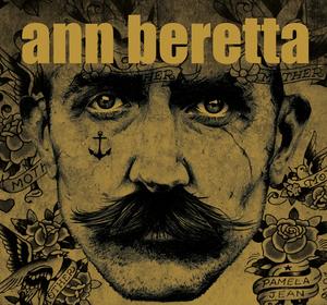NEW - Ann Beretta limited metallic 7 inch