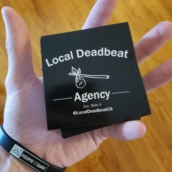 Local Deadbeat Slap/Sticker Pack (4)