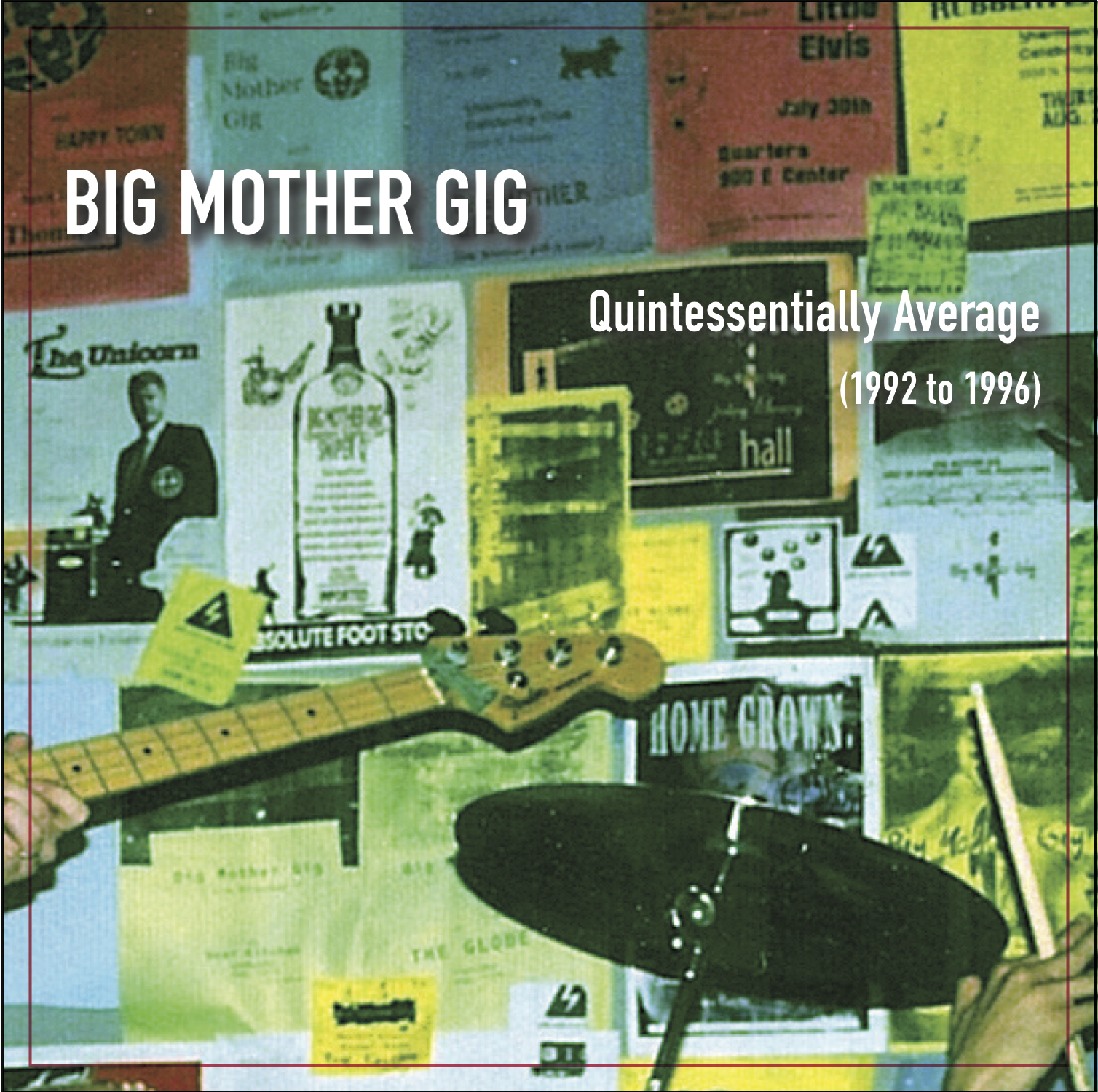 Big Mother - Gig Quintessentially Average (92-96) CD