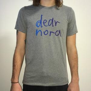 DEAR NORA- Purple/blue fade t-shirt