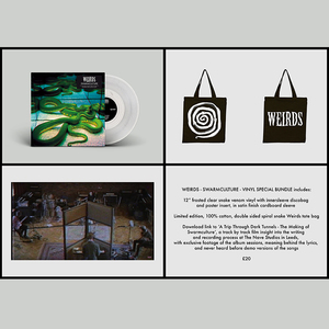 Weirds – Swarmculture 12�/CD, Bag and Film: Rattlesnake Bundle - PREORDER
