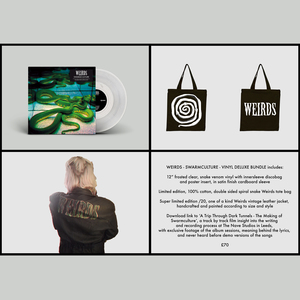 Weirds – Swarmculture 12�/CD, Leather Jacket, Bag and Film: Python Bundle - PREORDER