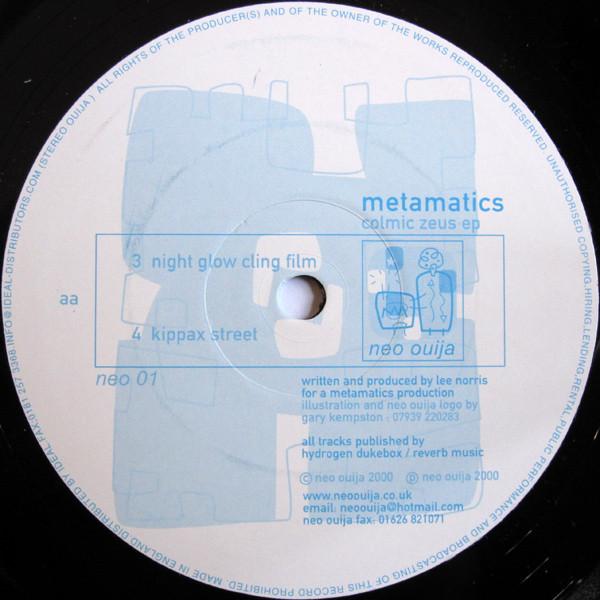 Metamatics – Colmic Zeus EP ( Neo Ouija)